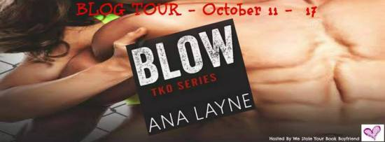 BLOW banner blog tour